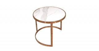 Caicos End Table 42X43 cm