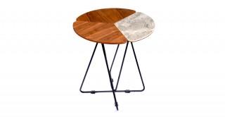 Jensen Ceramic End Table, 46 Cm H