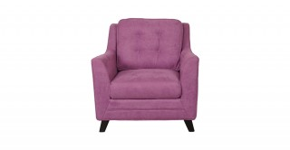 Bianca 1 Seater Sofa Pink