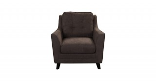 Bianca 1 Seater Sofa Grey