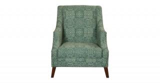 Drome  Arm Chair Green