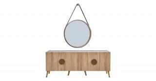 Antigo Sideboard With Mirror