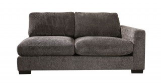 Miami 2 Seater R-Arm Sofa Dark Grey