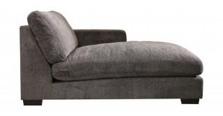 Miami Right Chaise Sofa Dark Grey