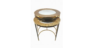 Jade End Tables