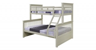 Zinnia White Kids Bunk Bed