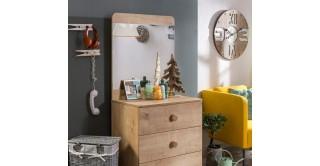 Cilek Mocha Kids Dresser With Mirror