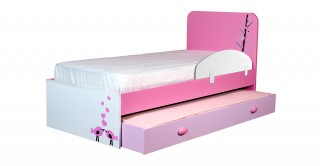 Alice Kids Bed+Pullout+Safety Bar