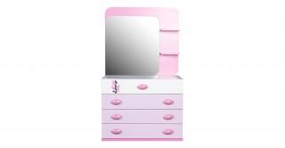 Alice Kids Dresser With Mirror