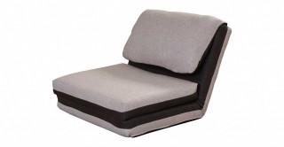 Lovie Foldable Sofa Bed, Grey/Beige