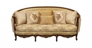Winslow 3 Seater Sofa Gold