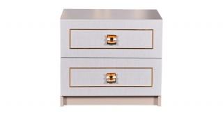 Gold Bedside Cabinet
