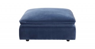 Miami Pouf Dark Blue