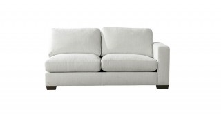 Miami 2 Seater R-Arm Sofa Off White