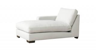 Miami Left Chaise Sofa Off White