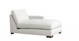 Miami Right Chaise Sofa Off White