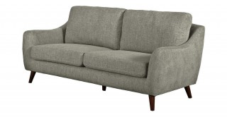 Sila 3 Seater Light Brown Sofa