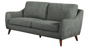 Sila 3 Seater  Grey Sofa