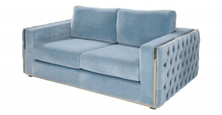 Sydney 2 Seater Sofa - Blue