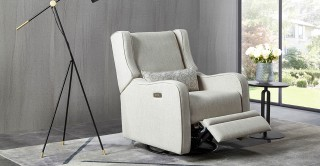 Compa Electric Rocking Off-white Recliner