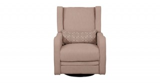 COMPA ELECTRIC ROCKING BROWN RECLINER