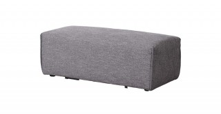 Bolonia Ottoman Sofa  Grey
