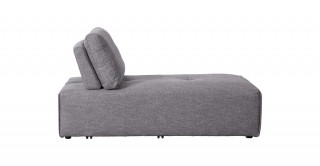 Bolonia Chaise Sofa Grey