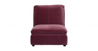 Oslo 1 Seater Sofa Purple