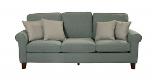 Roswell 3 Seater Sofa Green