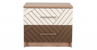 New Asymetric Bedside Cabinet