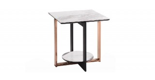 Colby Ceramic End Table