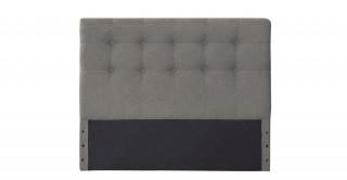 Tufted Headboard 120X200 Light Grey