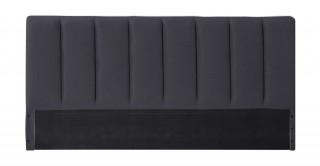 Tubes Headboard 200X200 Dark Grey