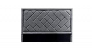Tetris Headboard 160X200 Dark Grey