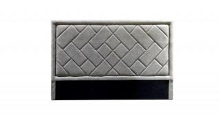 Tetris Headboard 200X200  Light Grey