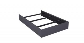 Bed Base 120X200 Dark Grey