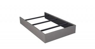 Bed Base 140X200 Light Grey