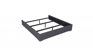 Bed Base 180X200 Dark Grey