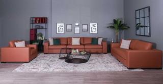 Toronto  Sofa Set Brown
