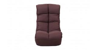 Dara Foldable Arm Chair Brown