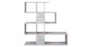 Zeta Bookcase Grey