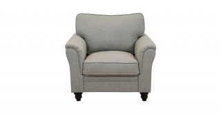 Burgas 1 Seater Sofa, Light Grey