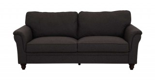 Burgas 3 Seater Sofa, Dark Grey