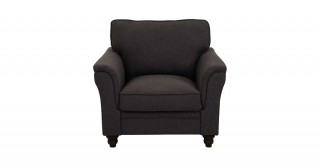 Burgas 1 Seater Sofa, Dark Grey