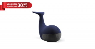 Dolphin Chair Dark Blue/Grey