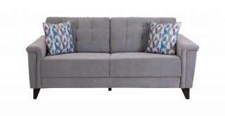 Queenstown 3 Seater Sofa Grey
