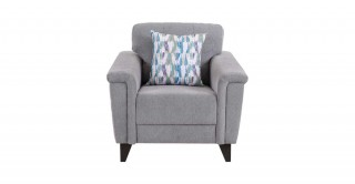 Queenstown 1 Seater Sofa Grey