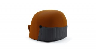 Samu Chair Orange/Grey