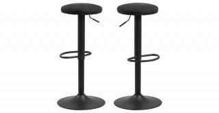 Finch Bar Chair, Black
