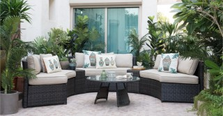 Bari Outdoor Sofa Set